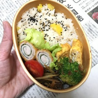 ゆる〜いお弁当作り